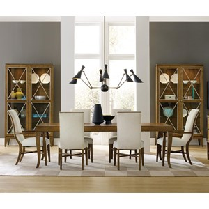Hamilton Home Retropolitan 7 Piece Table & Chair Set