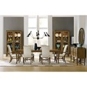 Hooker Furniture Retropolitan Rectangle Dining Table with Leaves