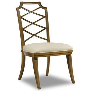 Hooker Furniture Retropolitan Wood Back Side Chair
