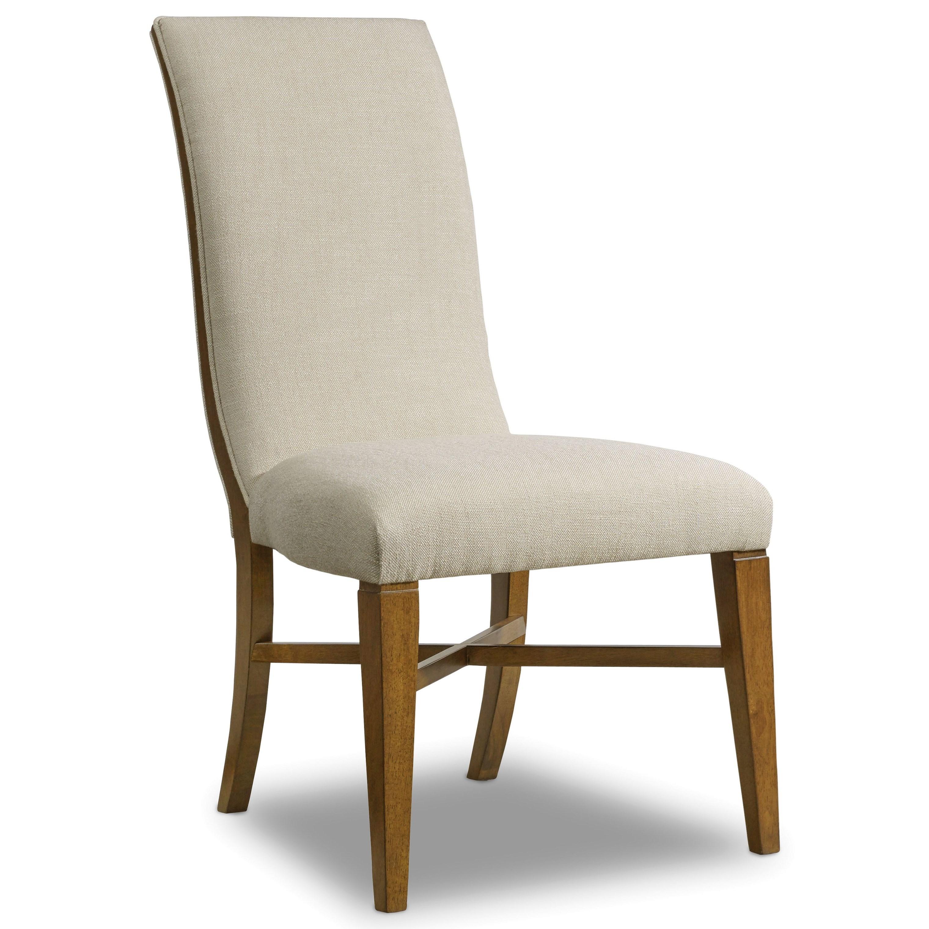 Hooker Furniture Retropolitan Upholstered Side Chair - Item Number: 5510-75510-MWD