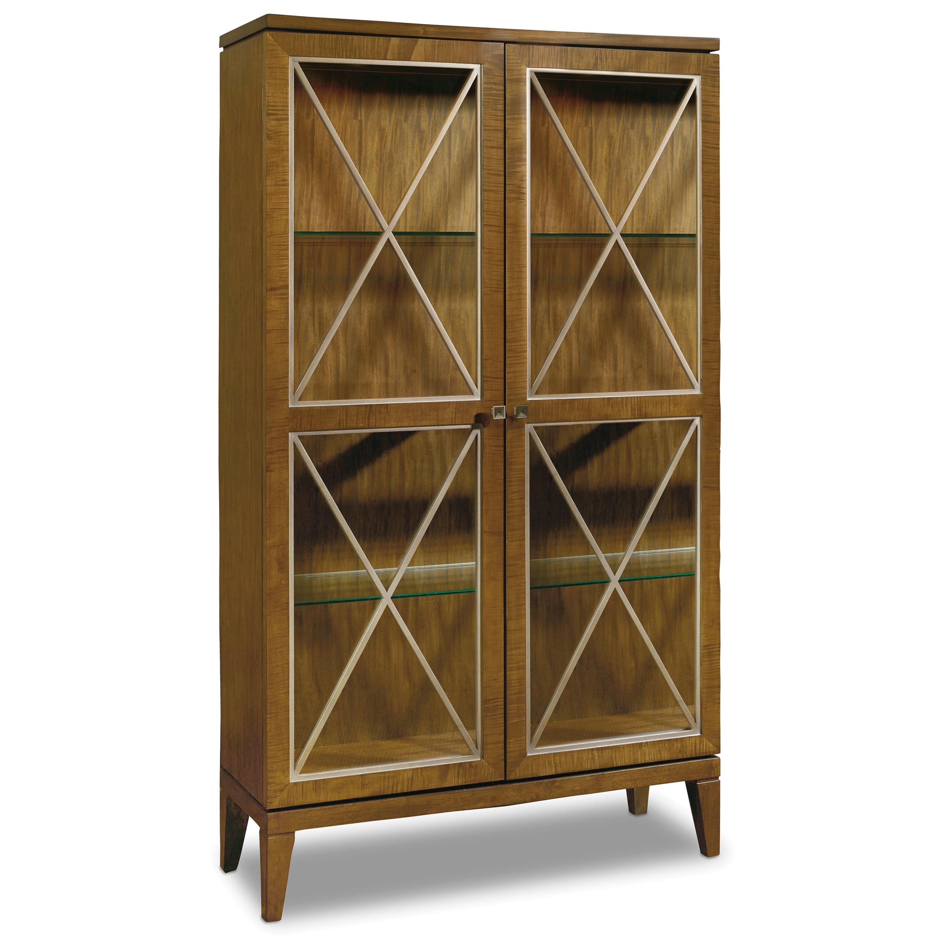 Hooker Furniture Retropolitan Display Cabinet - Item Number: 5510-75906-MWD