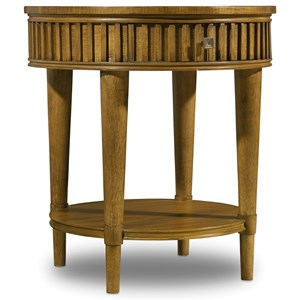 Hooker Furniture Retropolitan Round End Table