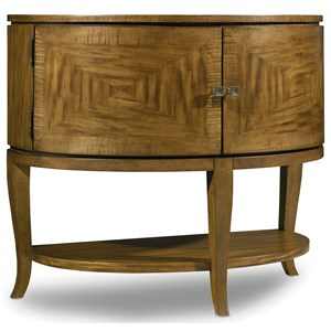Hooker Furniture Retropolitan Demilune Nightstand