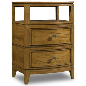 Hooker Furniture Retropolitan Two-Drawer Telephone Table