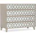 Hooker Furniture Reverie Mirrored Bachelors Chest - Item Number: 5795-90017-91