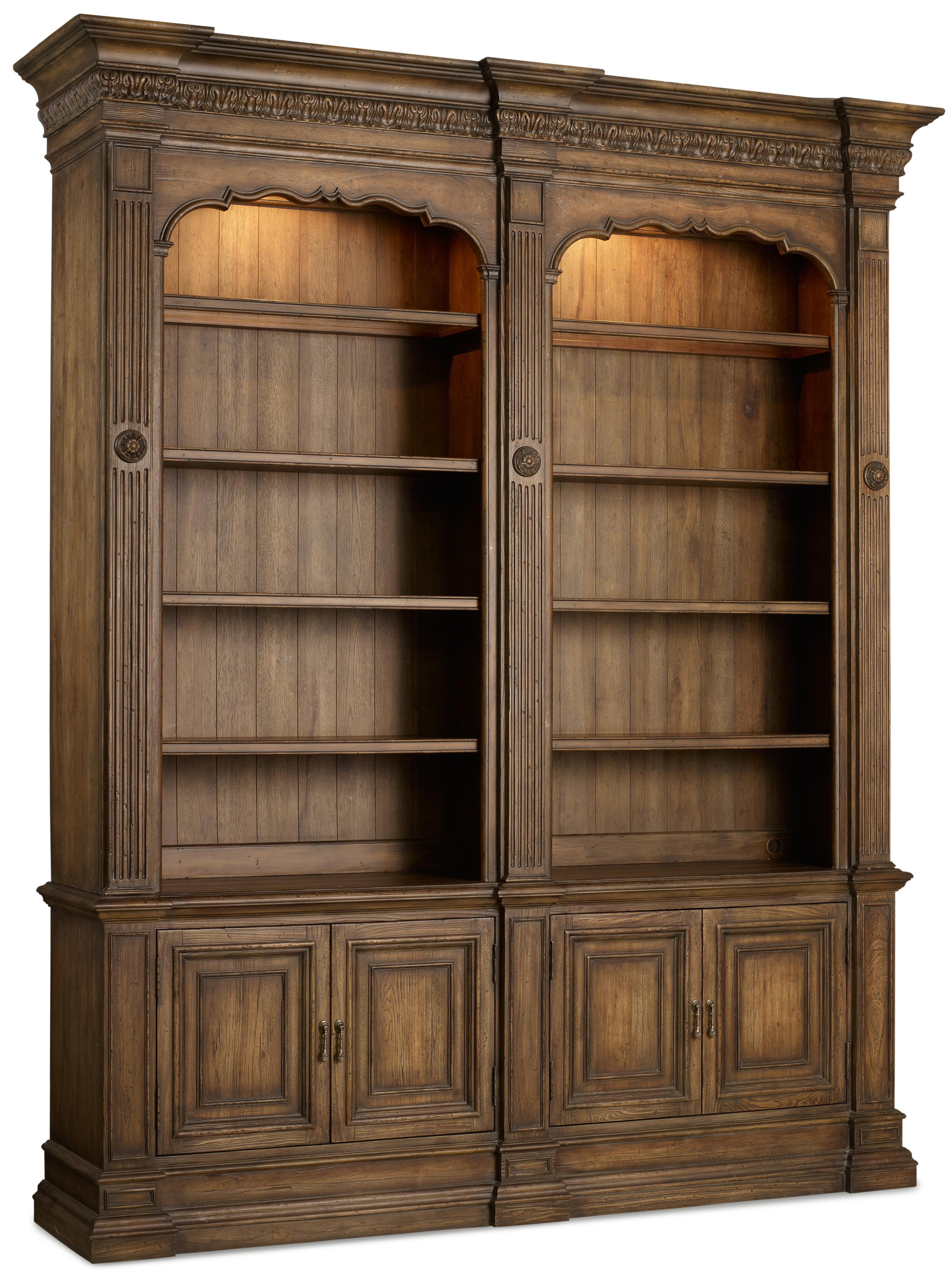 Hooker Furniture Rhapsody Double Bookcase - Item Number: 5070-10226