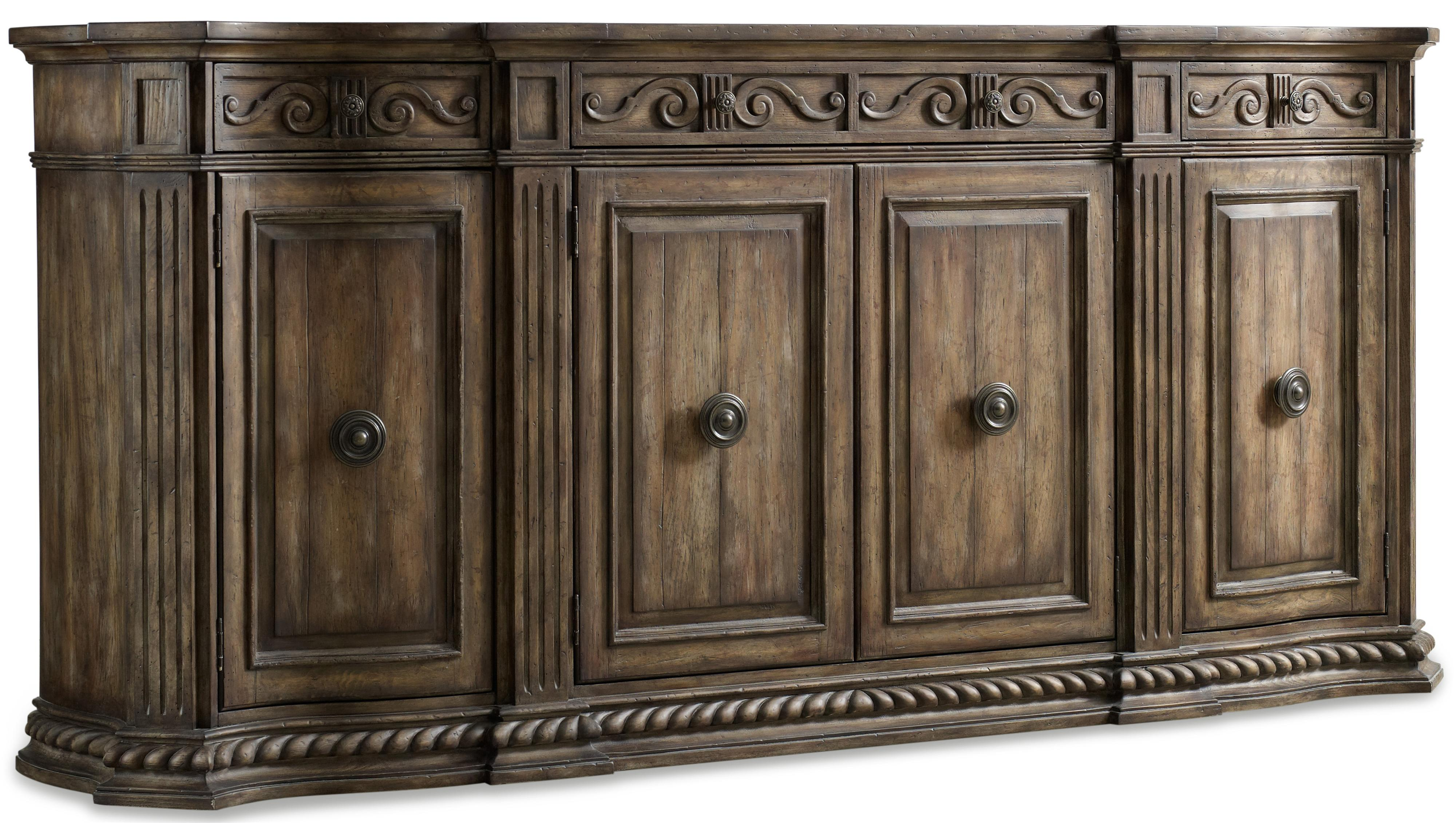 Hooker Furniture Rhapsody 96-Inch Credenza - Item Number: 5070-85002