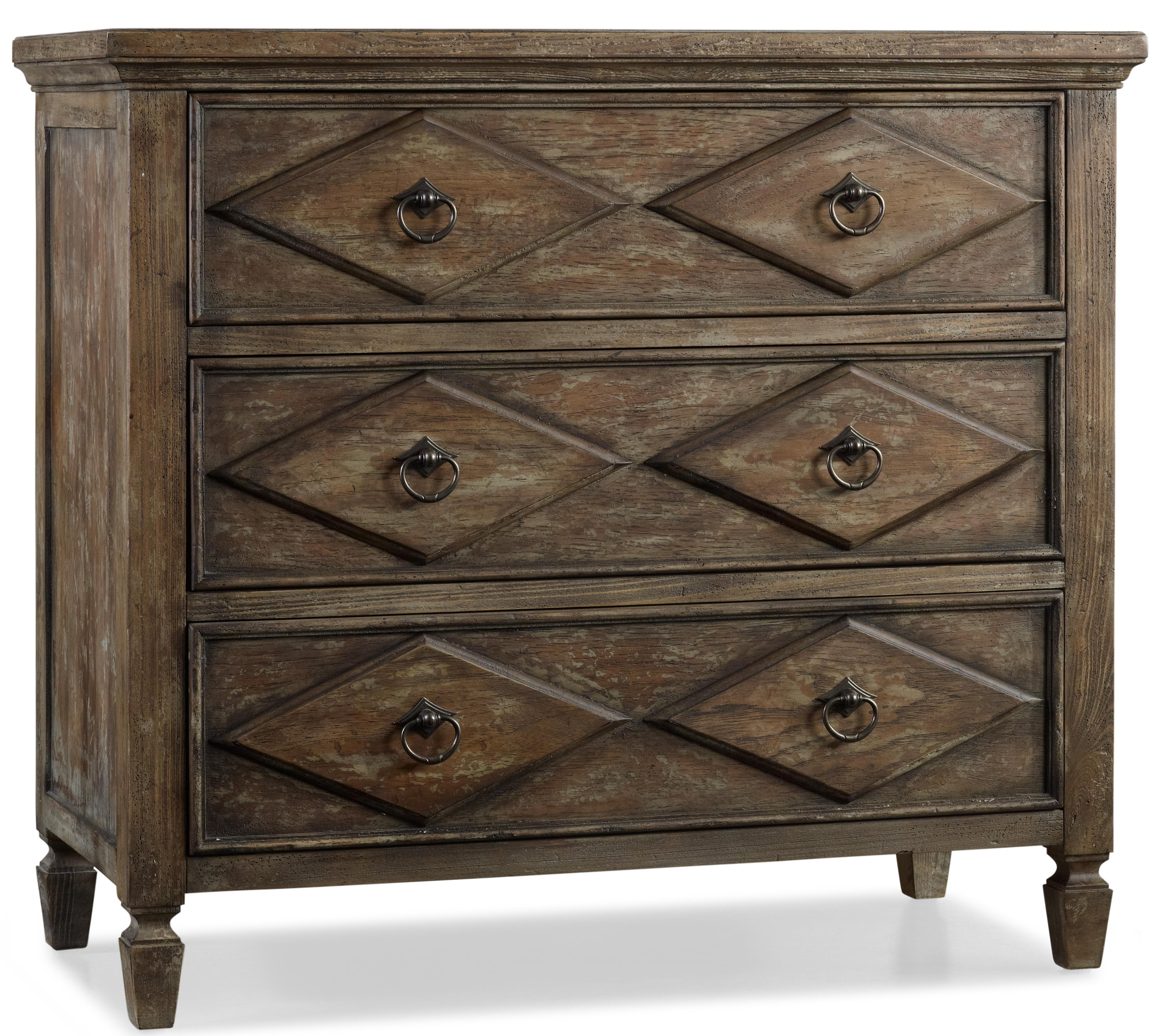 Hooker Furniture Rhapsody Diamond Chest - Item Number: 5074-85001