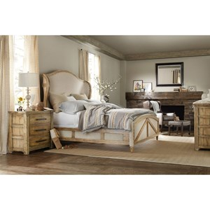 Hooker Furniture American Life - Roslyn County King Bedroom Group