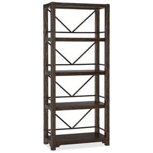 Hooker Furniture American Life - Roslyn County 4 Shelf Etagere