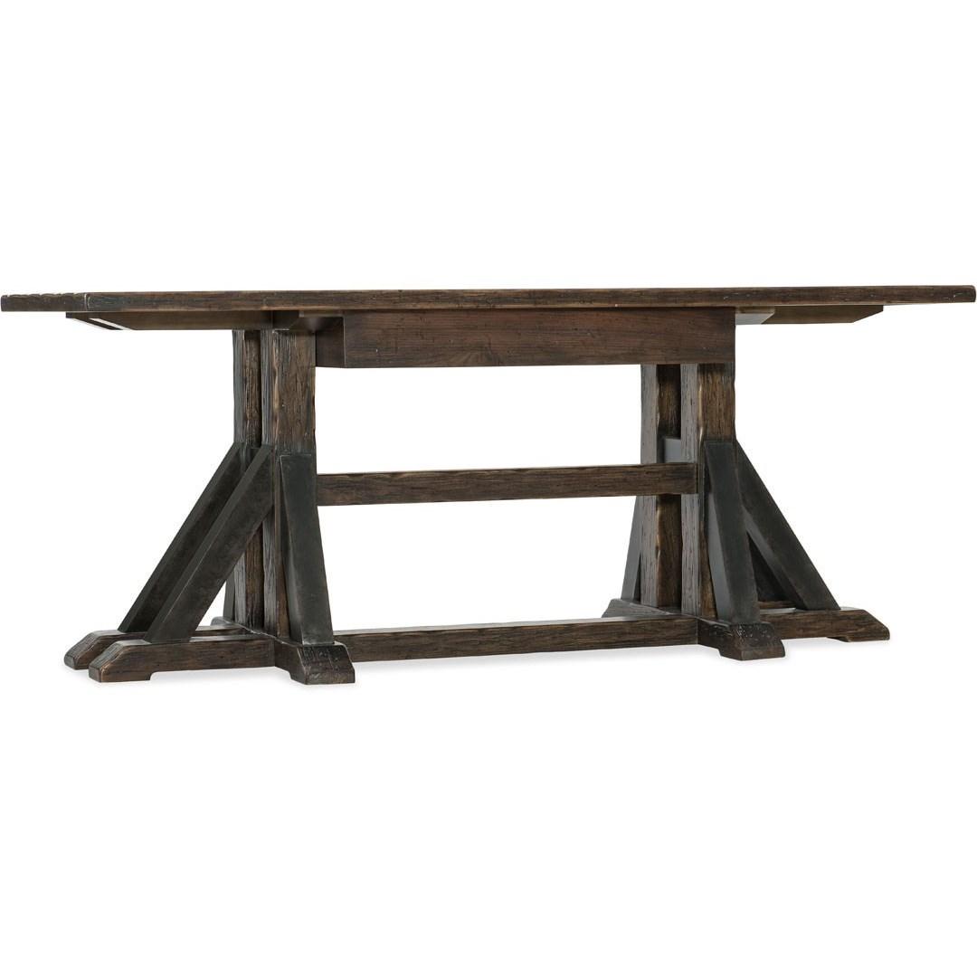 Hooker Furniture American Life - Roslyn County Trestle Desk - Item Number: 1618-10459-DKW