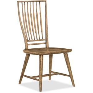 Hooker Furniture American Life - Roslyn County Spindle Back Side Chair