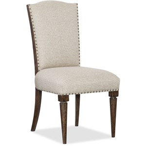 Hamilton Home American Life - Roslyn County Deconstructed Upholstered Side Chair