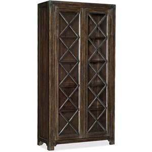 Hooker Furniture American Life - Roslyn County Bunching Display Cabinet