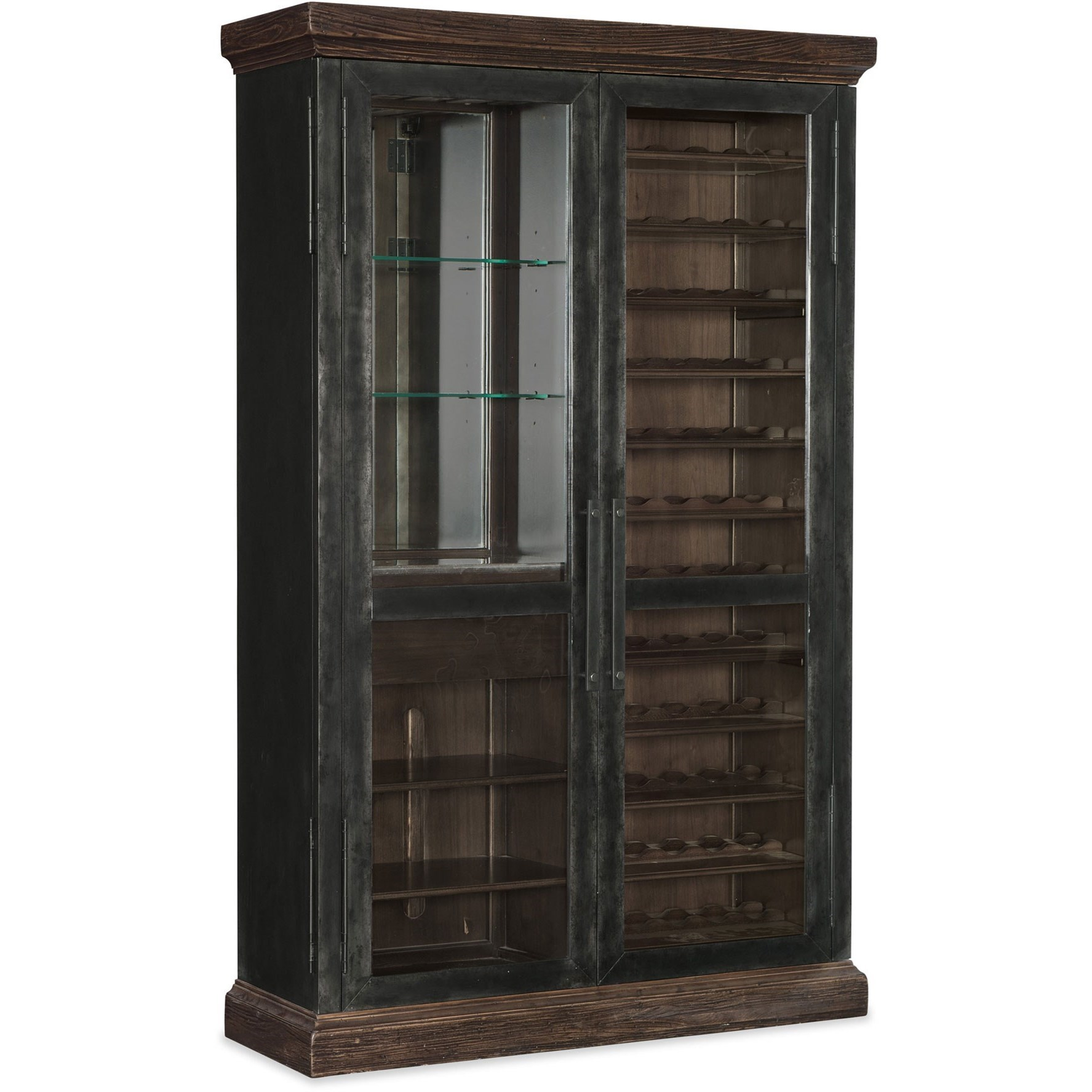 American Life - Roslyn County Wine Cabinet by Hooker Furniture at Baer's Furniture