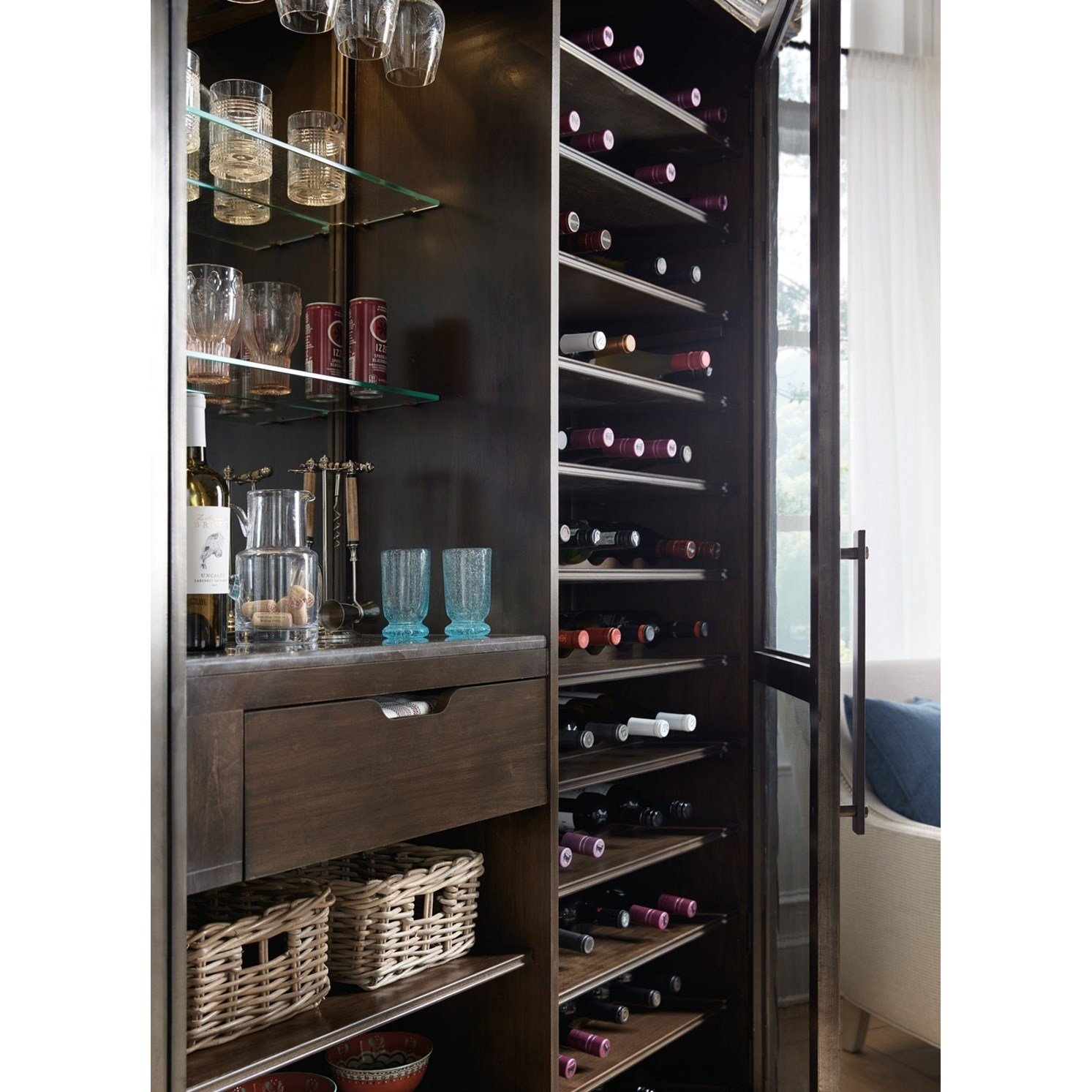 usa kitchen cabinets furniture american roslyn county wine 3099