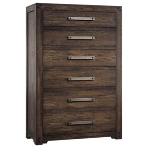 Hooker Furniture American Life - Roslyn County Six-Drawer Chest