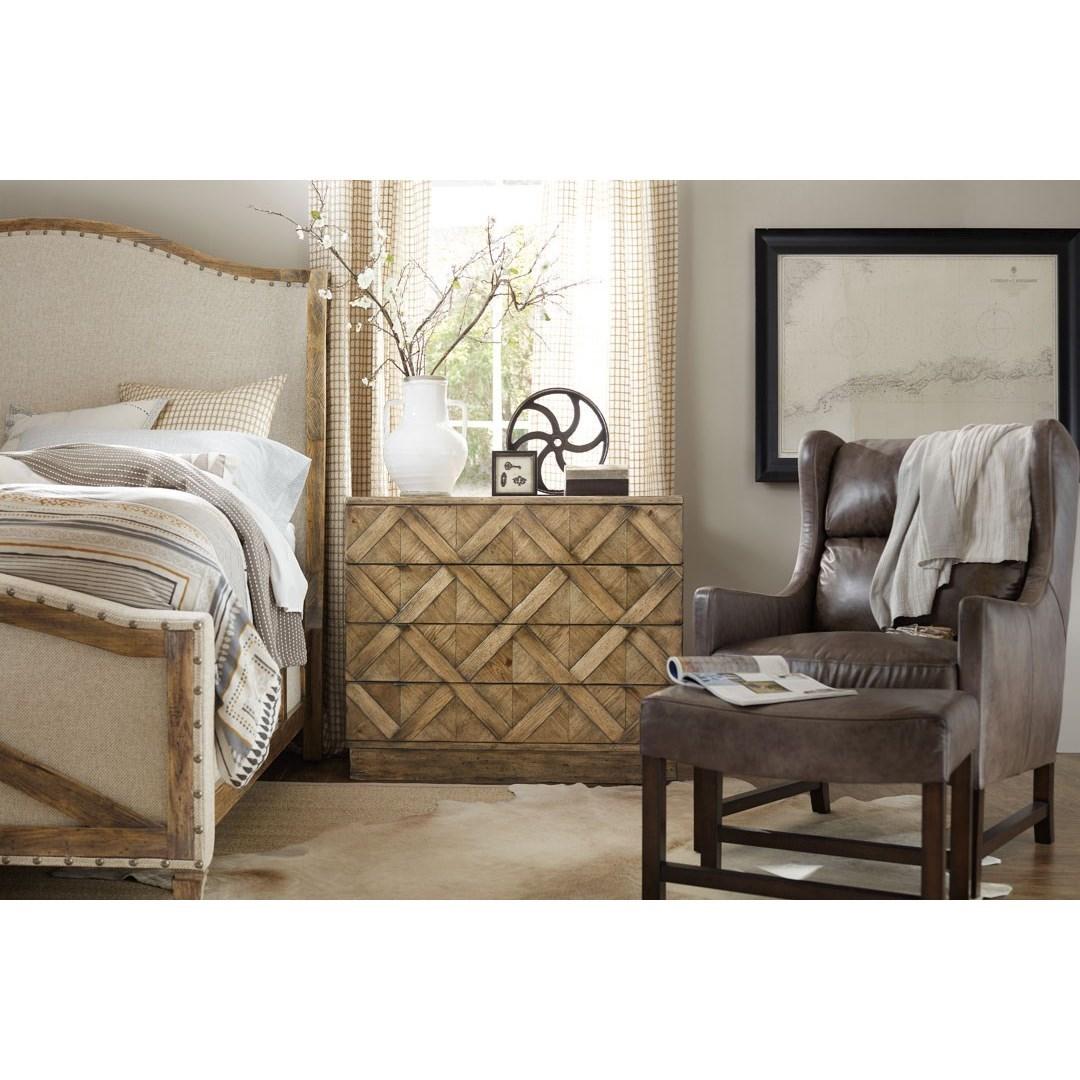 Roslyn Bedroom Furniture Set: Roslyn County King Deconstructed Uph Panel