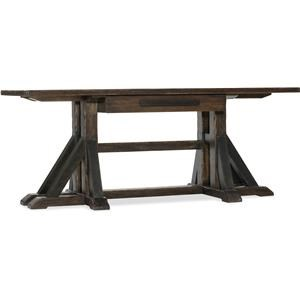 Hooker Furniture Roslyn County Trestle Desk