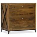 Hooker Furniture Rustique Lateral File - Item Number: 5621-10466-MWD