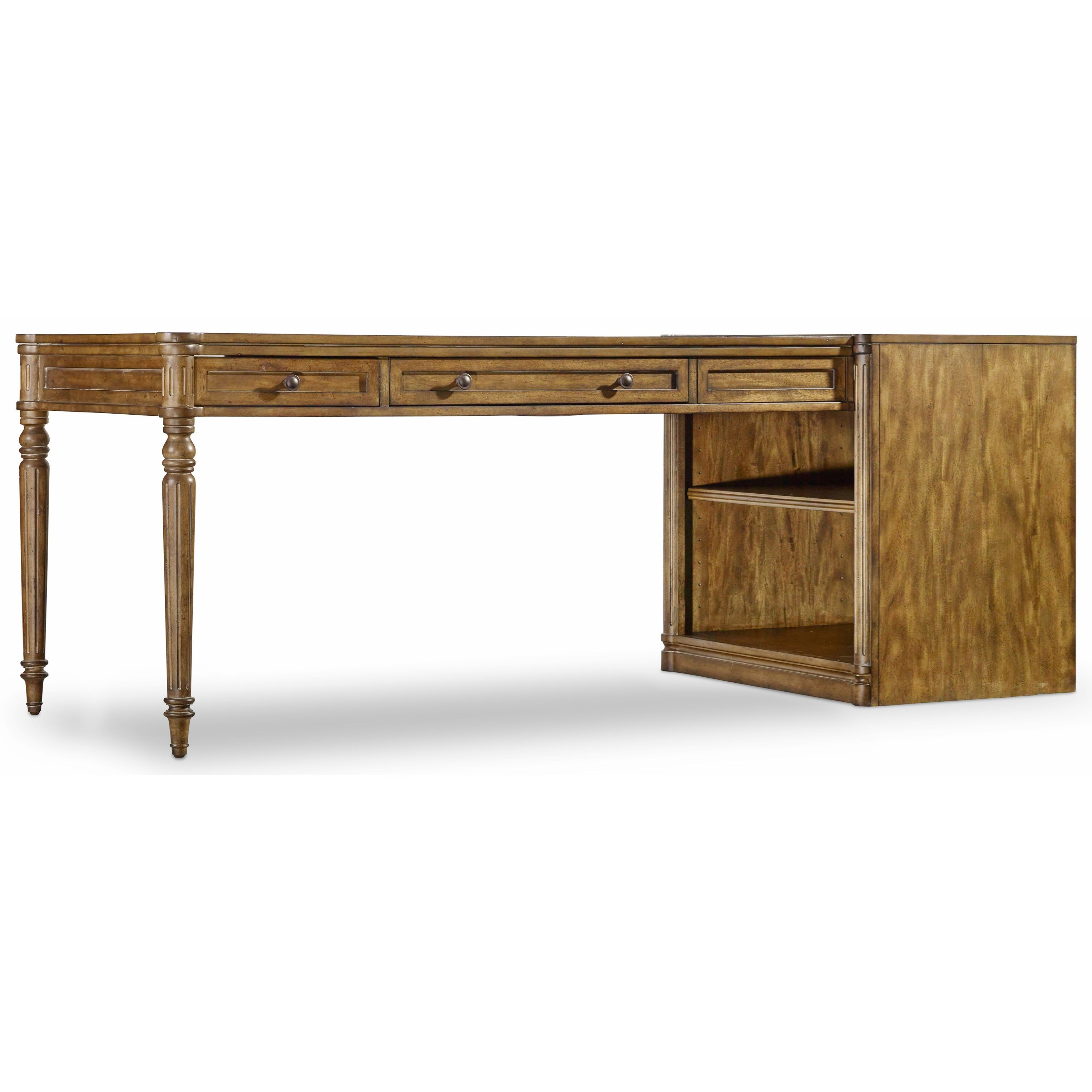 Hooker Furniture Saint Armand Peninsula Desk - Item Number: 5600-70424