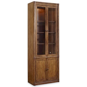 Hooker Furniture Saint Armand Wall Curio Cabinet