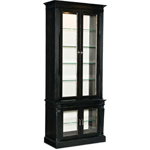 Display Cabinet Noir