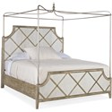Hooker Furniture Sanctuary Diamont King Canopy Bed - Item Number: 5875-90365-95