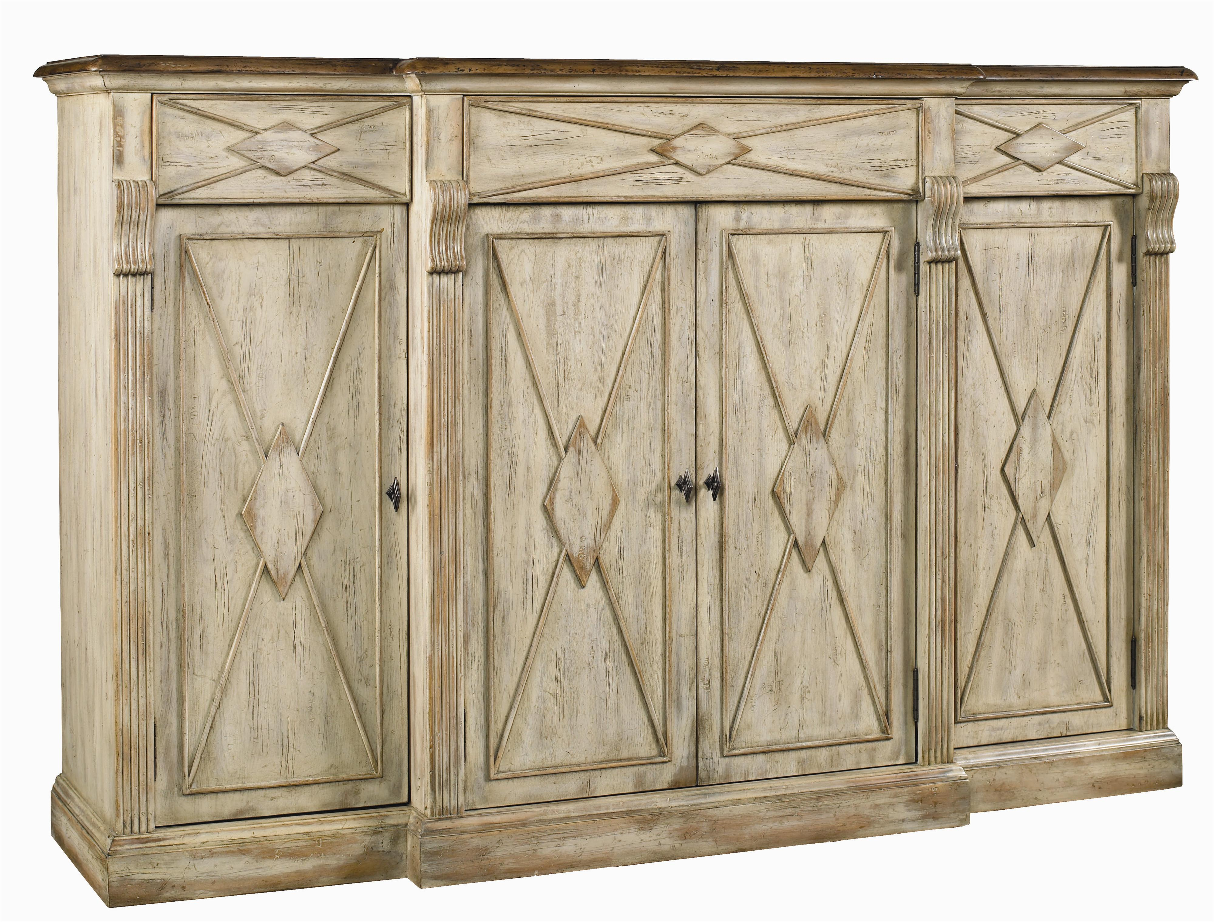 Hooker Furniture Sanctuary 4 Door 3 Drawer Credenza