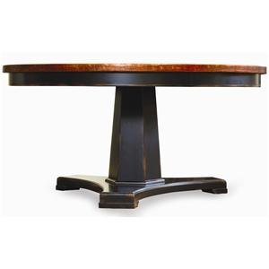 "60"" Round Pedestal Dining Table"