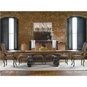 Hooker Furniture Sanctuary 7 Piece Table & Chair Set