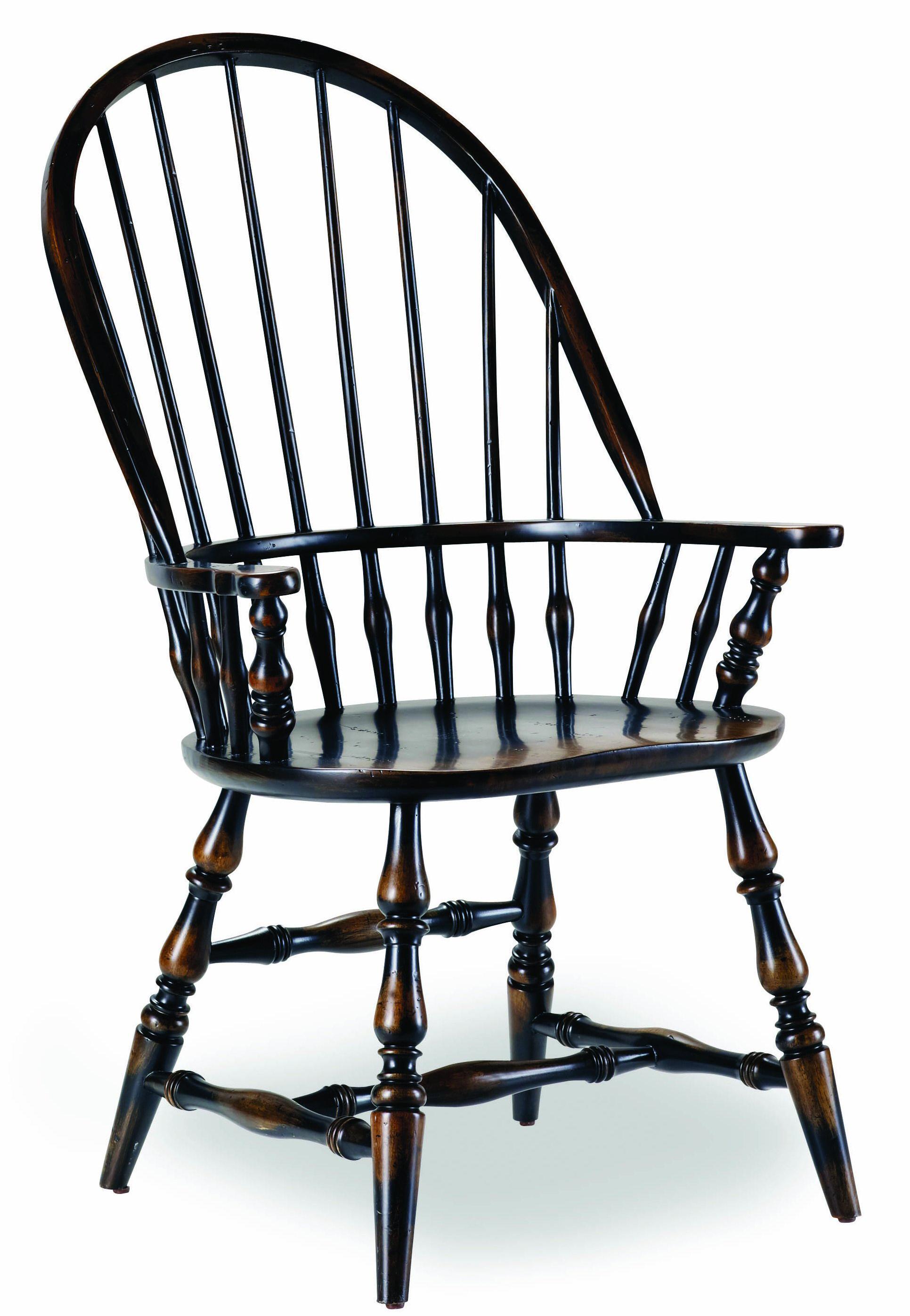 Hooker Furniture Sanctuary Windsor Arm Chair - Item Number: 3005-75320