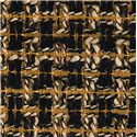 Hooker Furniture Sanctuary Mirage Side Chair with Nail Head Trim - Gold Black Tweed Fabric