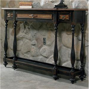 hooker furniture sanctuary threedrawer console