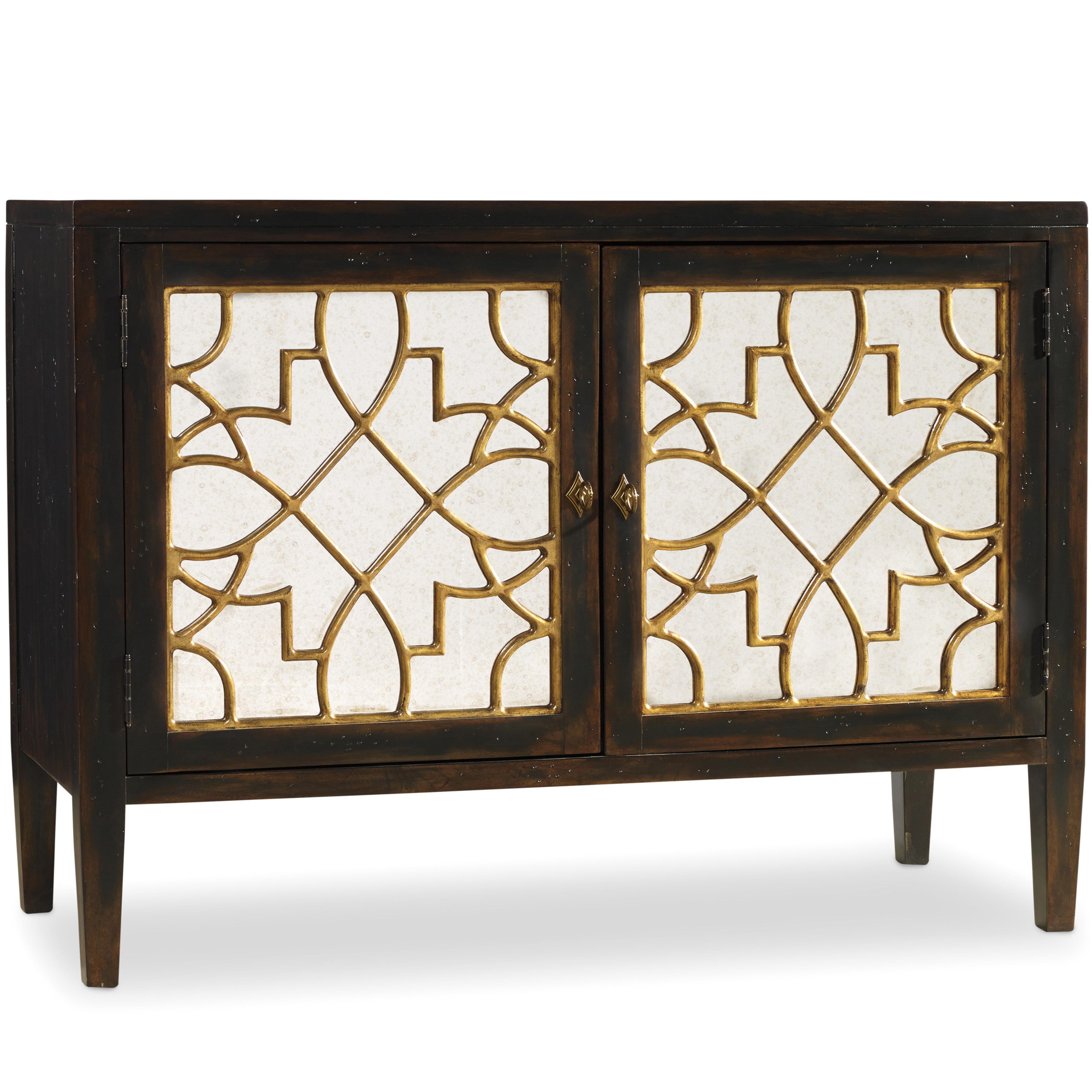 Hooker Furniture Sanctuary 2 Door Mirrored Console - Item Number: 3005-85006