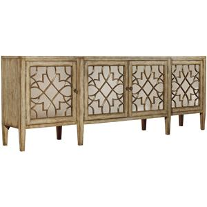 Hooker Furniture Sanctuary Four-Door Mirrored Console