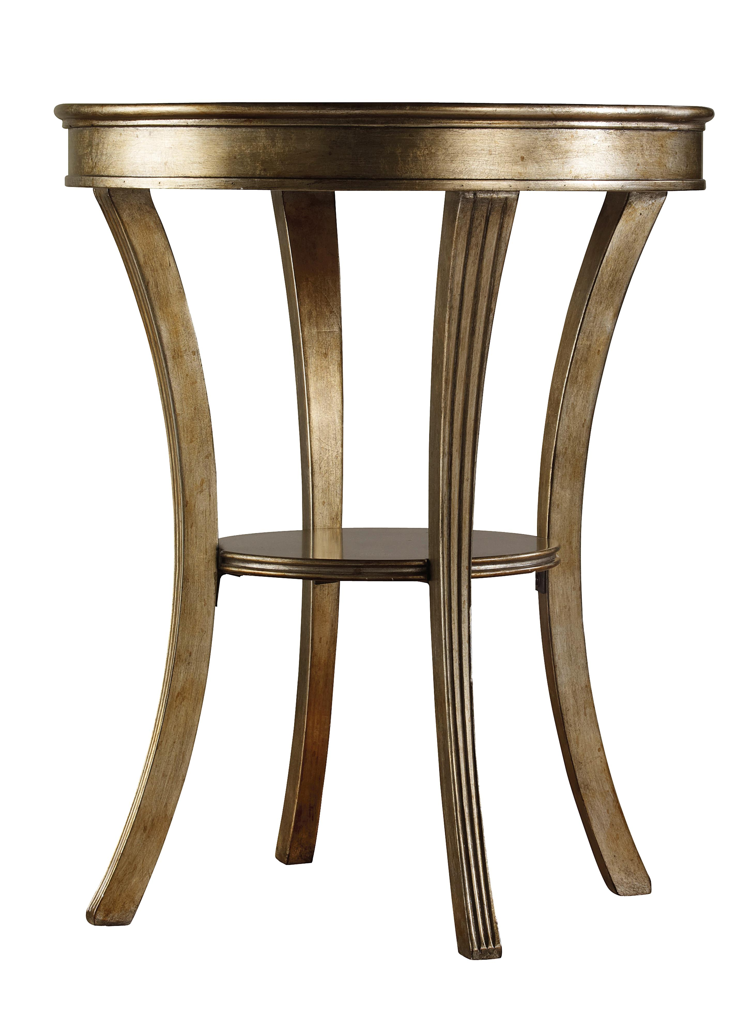 Hooker Furniture Sanctuary Round Mirrored Accent Table  - Item Number: 3014-50001