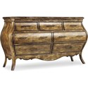 Hooker Furniture Sanctuary Seven Drawer Dresser - Item Number: 3016-90002