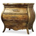 Hooker Furniture Sanctuary Small Bombe Nightstand - Item Number: 3016-90217
