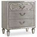 Hooker Furniture Sanctuary Three Drawer Nightstand - Item Number: 5603-90016A-LTBR