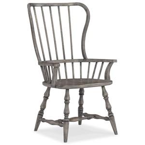 Hamilton Home Sanctuary Spindle Back Arm Chair