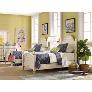 Hooker Furniture Sandcastle Twin Bedroom Group