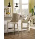 Hooker Furniture Sandcastle Upholstered Barstool with Swivel Seat