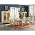 Hooker Furniture Sandcastle Fretback Side Chair - Upholstered Seat