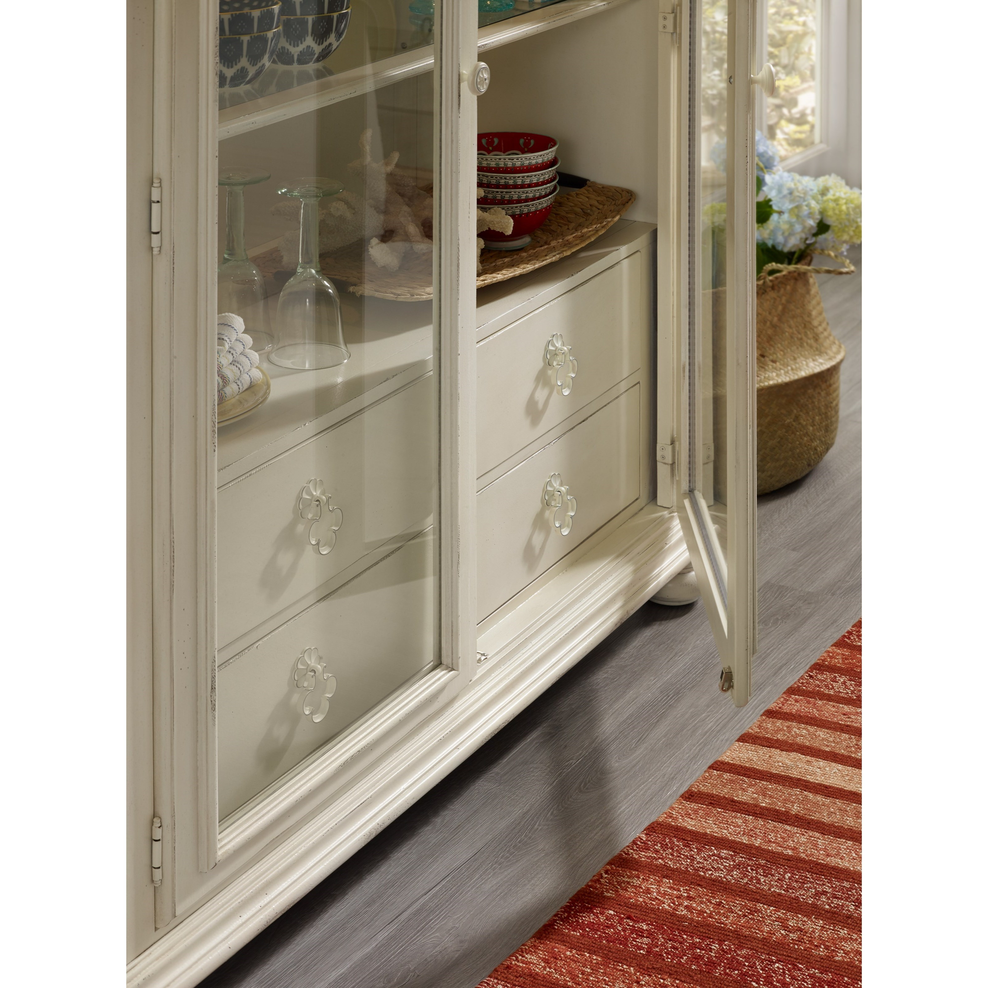 Hamilton Home Gweneth Display Cabinet With Built-in