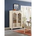Hooker Furniture Sandcastle Display Cabinet with Built-in Lighting