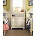 Hooker Furniture Sandcastle Bachelor Chest with 3 Drawers
