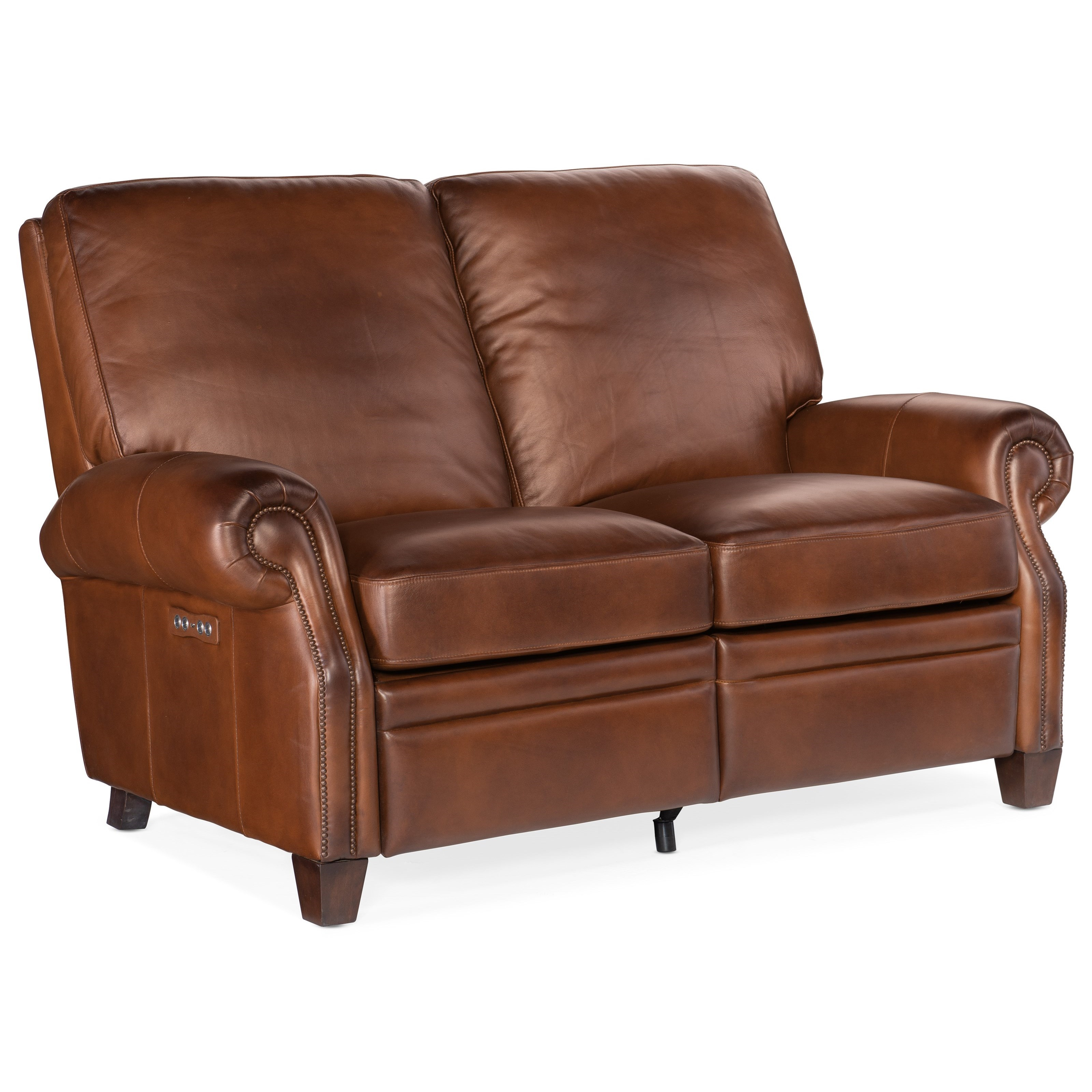 Sapindale Power Recline Loveseat by Hooker Furniture at Baer's Furniture