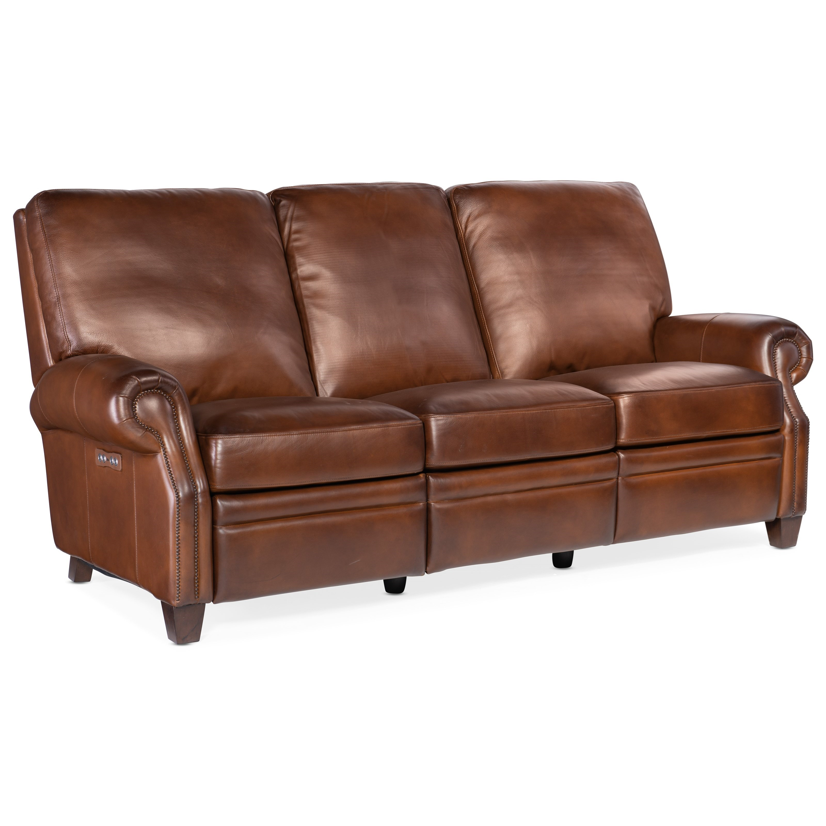 Sapindale Power Recline Sofa by Hooker Furniture at Baer's Furniture