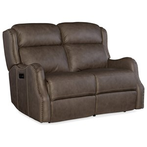Power Loveseat with Power Headrest